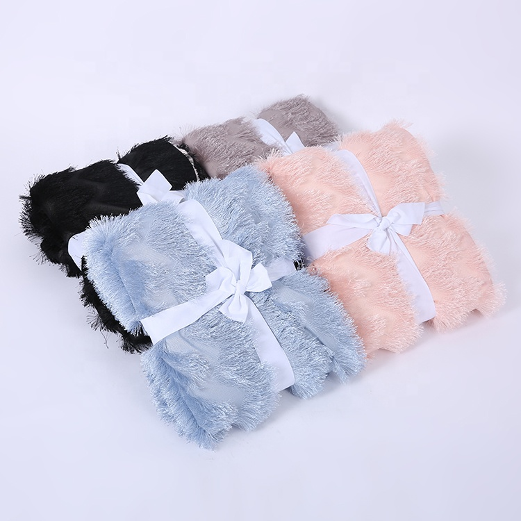 Chinese Factory Wholesale Custom Cheap Double Layer Pv Fleece Soft Bed Throw Blanket